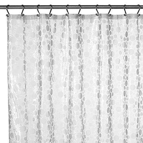 Ice Circles Vinyl Shower Curtain - Bed Bath & Beyond