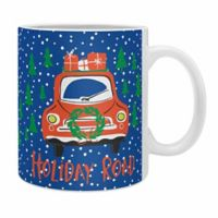 "DENY Designs Zoe Wodarz ""Holiday Road"" Mugs (Set of 2)"