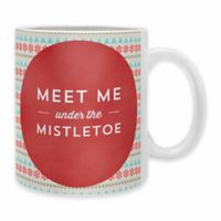 "DENY Designs Allyson Johnson ""Under the Mistletoe"" Mugs (Set of 2)"