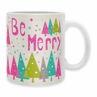 "DENY Designs Heather Dutton ""Be Merry"" Mugs (Set of 2)"