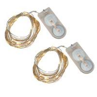 Submersible Mini String Lights in Warm White (Set of 2)