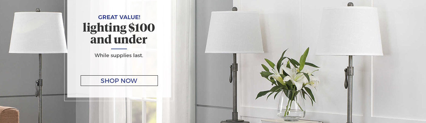 Vanity Lighting Under $100