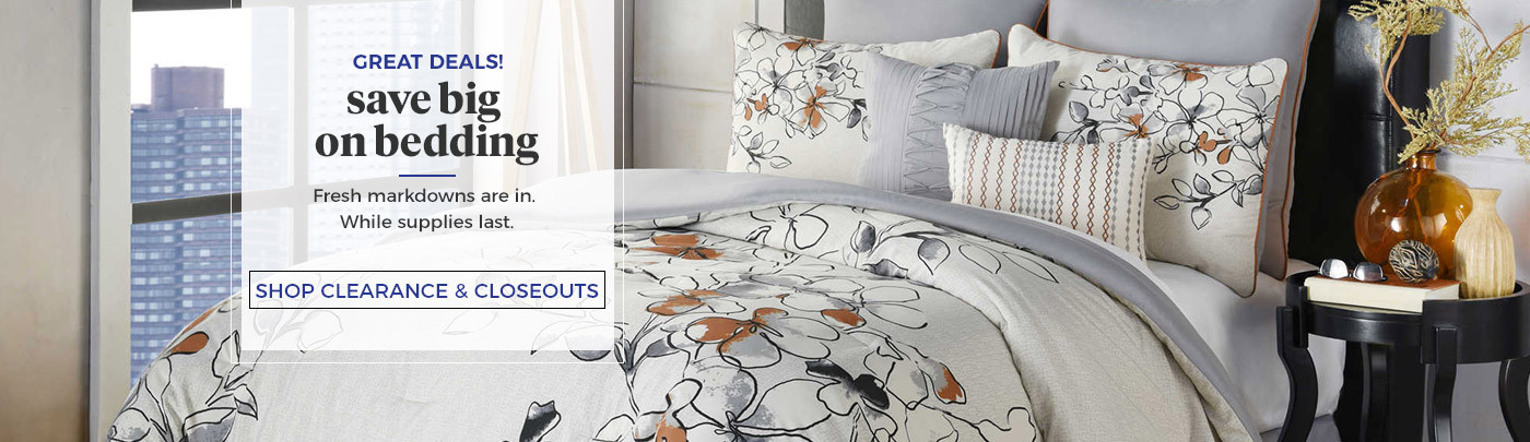 Shop Bedding Closeout