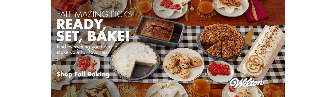 Fall-Mazing Picks - Ready, Set, Bake!