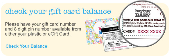 Gift cards buybuybaby check your gift card balance negle Images