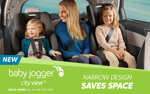 baby jogger - narrow design saves space