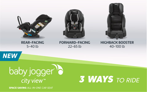 baby jogger - 3 ways to ride