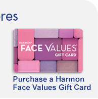 Harmon Face Values Gift Cards