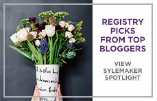 Registry Picks from Top Bloggers. Learn More