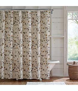 Cortina de baño de algodón Bee & Willow™ Floral Vine color beige