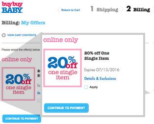 buy buy baby free shipping code