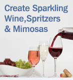 Bonne O - Create Sparkling Wine, Spritzers & Mimosas
