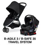 Britax B-Agile, B-Safe 35 Travel System