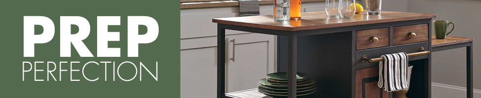 Prep Perfection Kitchen Islands & Carts