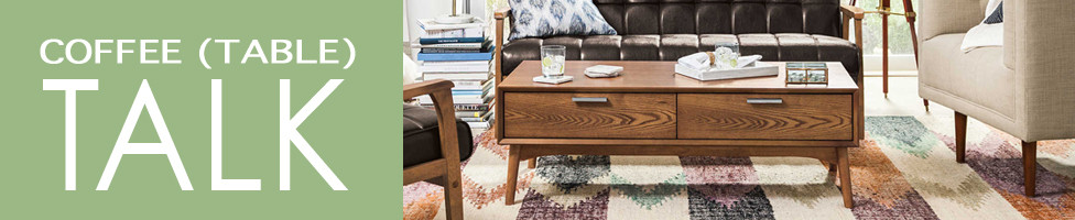 Coffee (table) Talk- Shop Coffee tables