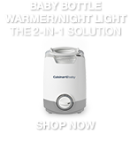 Baby Bottle Warmer/Night Light - The 2-in-1 Solution - Shop Now