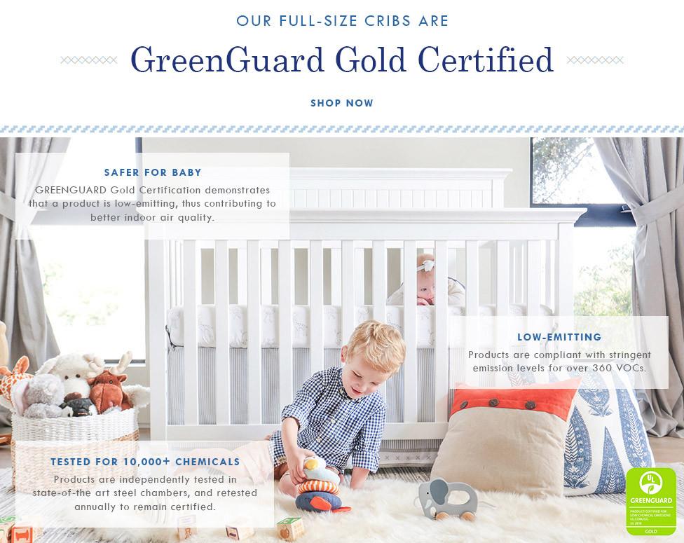 Davinci Greenguard Certified Cribs