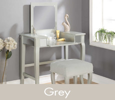 Grey Makeup Vanities