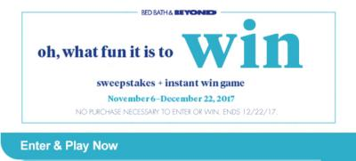 oh what fun it is to win - Holiday Sweeps image
