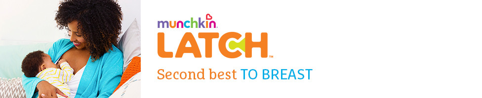 Munchkin Latch Second best to breast