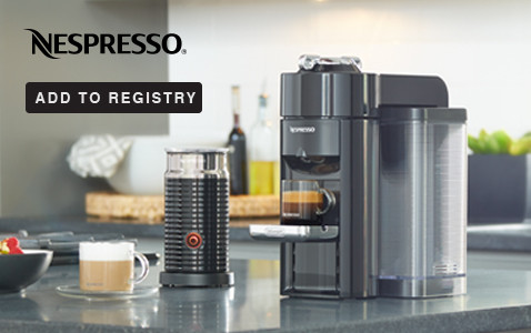 Shop Nespresso - Add to Registry