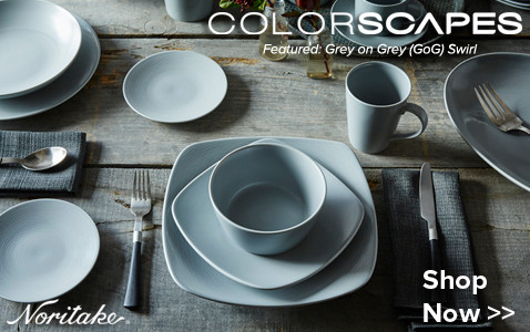 Noritake New colors in Platinum and Golden Wave - Register Now