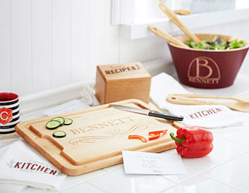 Personalized Home & Entertaining Gifts