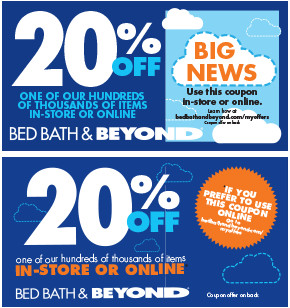 Bed Bath And Beyond Coupon Registration