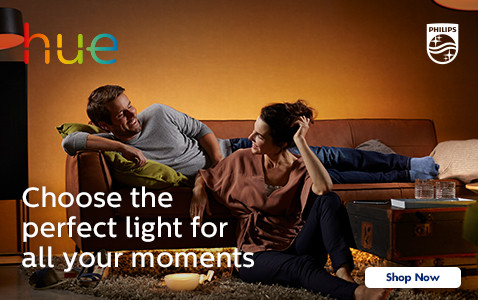 Phillips Hue - Choose the Perfect light for all your Moments