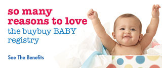 View benefits of creating a registry with buybuyBaby!
