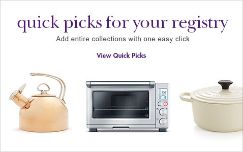 kick start your registry