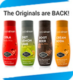 sodastream, the originals are back!