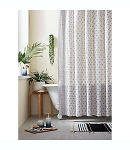 Cortina de baño de algodón Wild Sage™ Keilana color gris