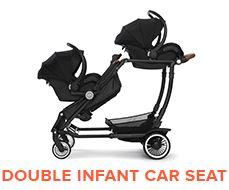 Double Infant Car Seat