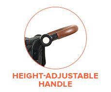 Height-Adjustable Handle