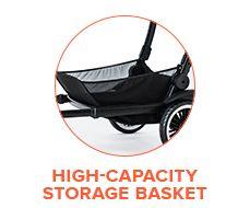 High-Capacity Storage Basket