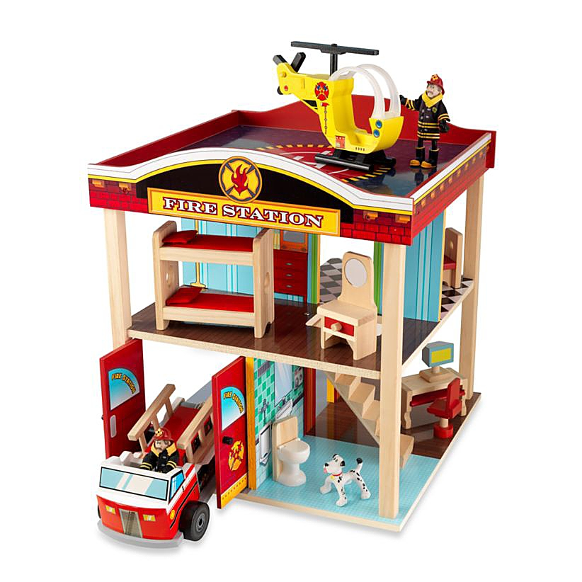 Image of toy firehouse