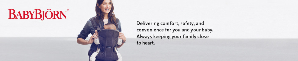 BABYBJORN - Delivering comfort, safety and convenience for you and your baby.