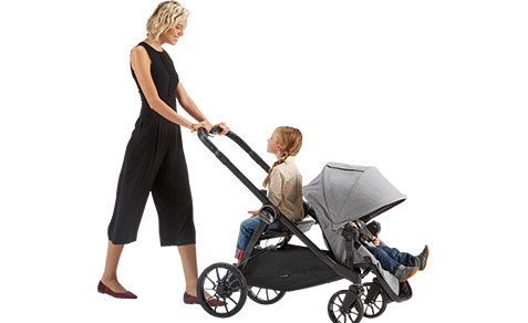 Baby Jogger 174 2017 City Select 174 Lux Stroller In Ash
