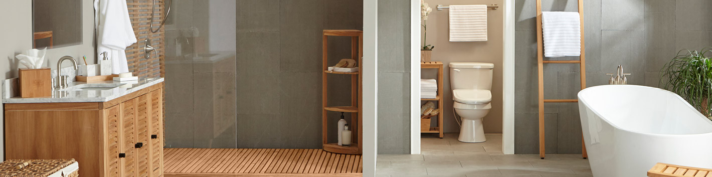 Spa Inspired Bathroom | Spa Accessories | Shower Curtains - Bed Bath ...