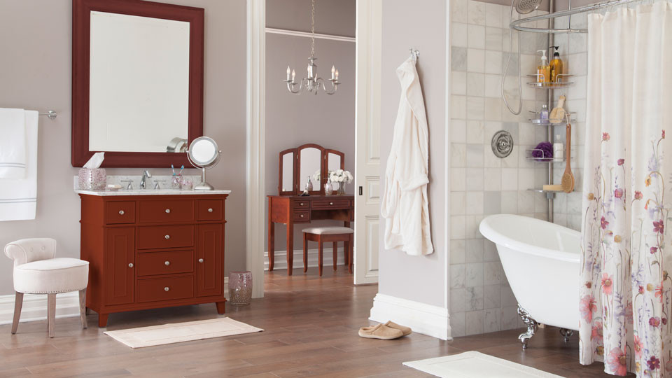bathroom makeover | quick bathroom makeover ideas