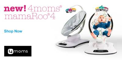 New 4Moms MamaRoo 4 Infant Seat - Shop Now