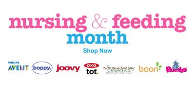 Check out our featured brands to help celebrate nursing & feeding month - Shop Now