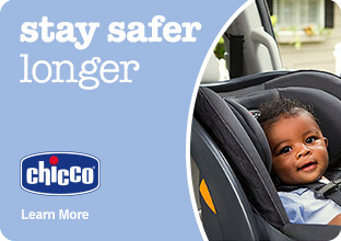 Chicco - stay safer longer. Shop Now