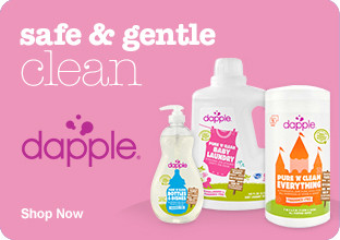 Dapple - safe and gentle clean. Shop Now