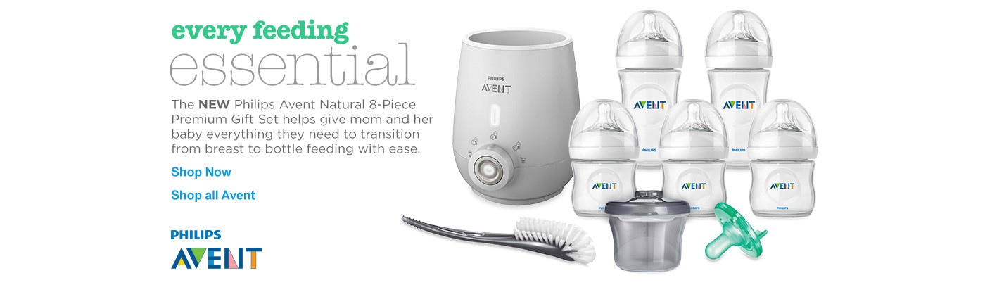 Every Feeding Essential - New Philips Avent