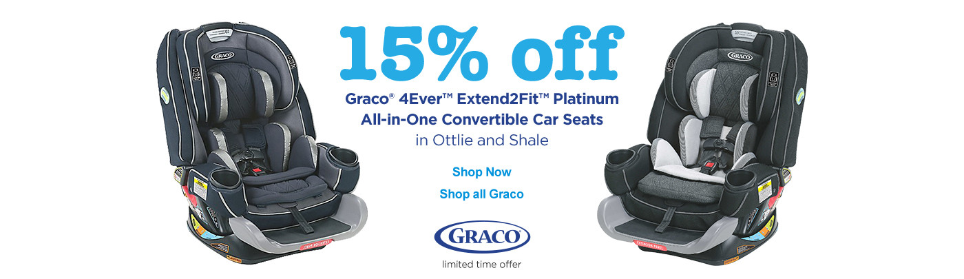 15% off Graco carseats