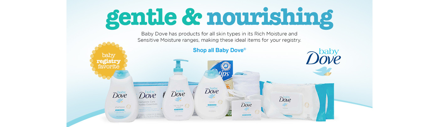 Gentle & Nourishing Shop baby dove