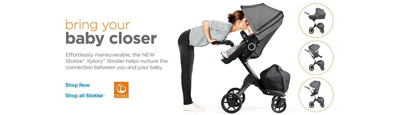Bring your baby closer. Shop Stokke