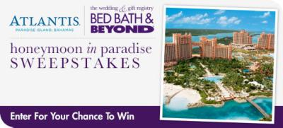 Enter for a chance to win a honeymoon in paradise image